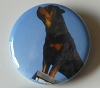 Roof Dog button badge